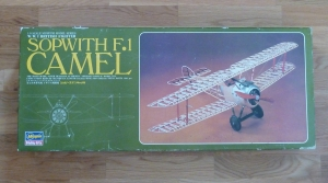 "Hasegawa's 1:8 ""Museum Series"" Sopwith Camel F1"