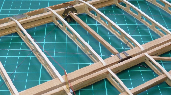 SOPWITH CAMEL F1 – HASEGAWA 1:8 (PART 6): Port Upper Mainplane