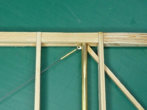 Faux turnbuckle without loop.