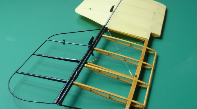 SOPWITH CAMEL F1 – HASEGAWA 1:8 (PART 9) Tailplane