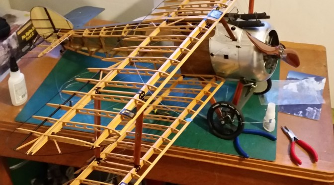 SOPWITH CAMEL F1 – HASEGAWA 1:8 (PART 15) Final Assembly