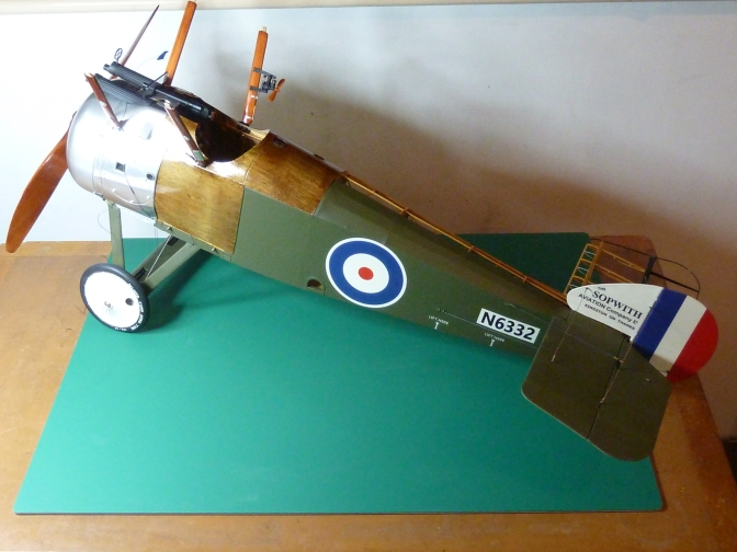 SOPWITH CAMEL F1 – HASEGAWA 1:8 (PART 13) FUSELAGE COMPLETION