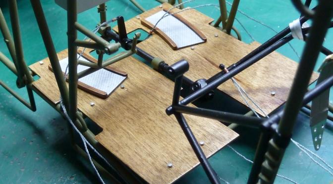 FOKKER DR.1 – HASEGAWA 1:8 (PART 4) Fuselage Frame & Cockpit Floor