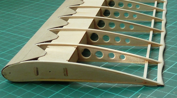 FOKKER DR.1 – HASEGAWA 1:8 (PART 10) WINGS