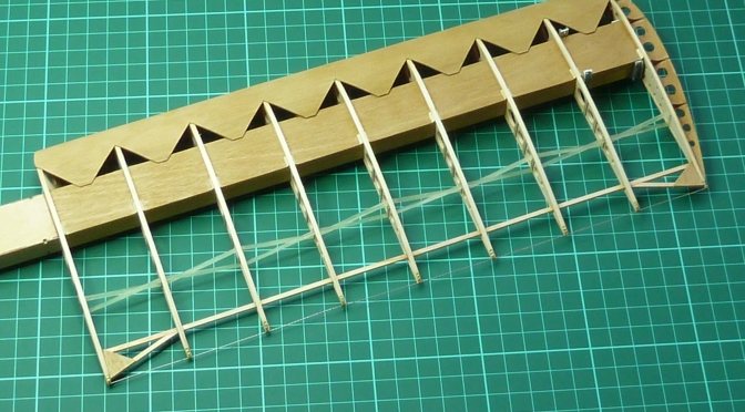 FOKKER DR.1 – HASEGAWA 1:8 (PART 11) WINGS