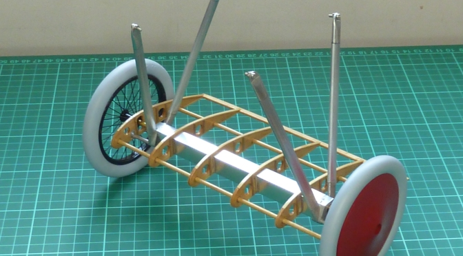 FOKKER DR.1 – HASEGAWA 1:8 (PART 12) Undercarriage