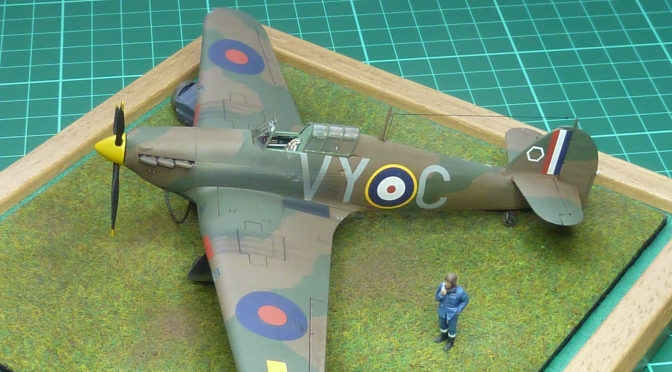 Hawker Hurricane Mk.1 Fabric Wing – Airfix 1:72