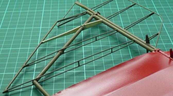FOKKER DR.1 – HASEGAWA 1:8 (PART 13) Tailplane