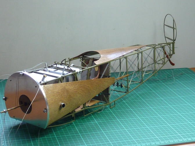 FOKKER DR.1 – HASEGAWA 1:8 (PART 14) Rigging & Ailerons