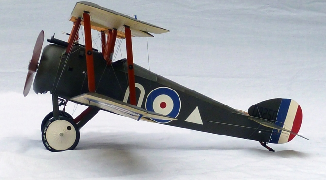 SOPWITH CAMEL F1 (2nd Build) – HASEGAWA 1:8 (Part 4)